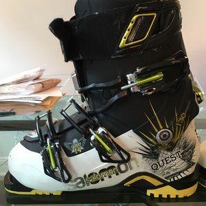 As violinista Irregularidades  Salomon Shoes | Ski Boots Salomon Quest 3 Mens Size 27 | Poshmark